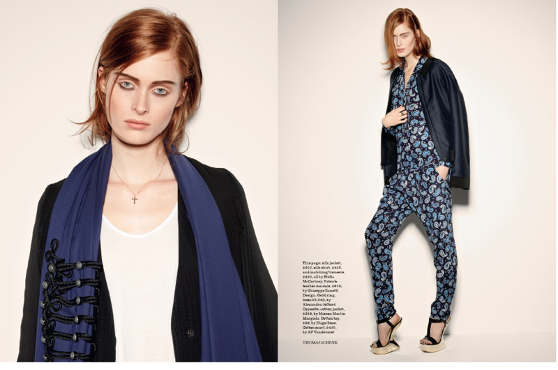 British Elle /w Thomas Schenk