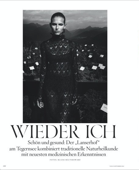 German Vogue /w Blaise Reutersward