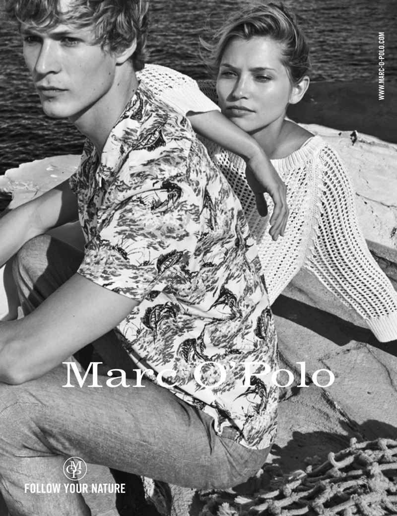 Marc O'Polo Campaign SS18 /w Emma Tempest