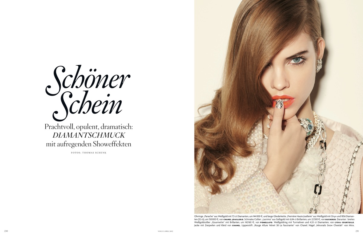 Vogue /w Thomas Schenk