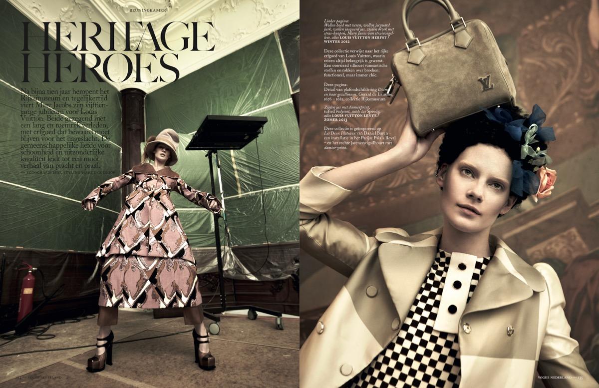Vogue Nederland /w Ishi