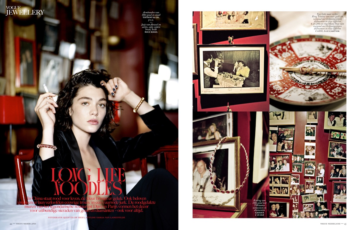 Vogue Nederland /w Quentin De Briey