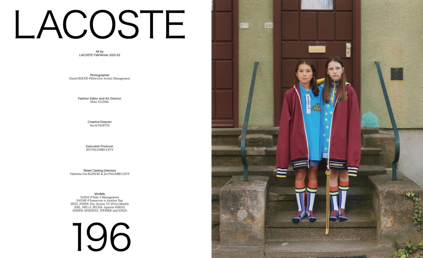 Lacoste / Odda Magazine /w Daniel Roche