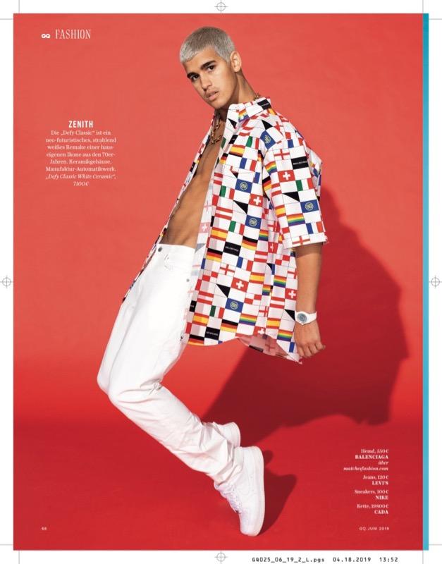 GQ Fashion /w Stefan Armbruster