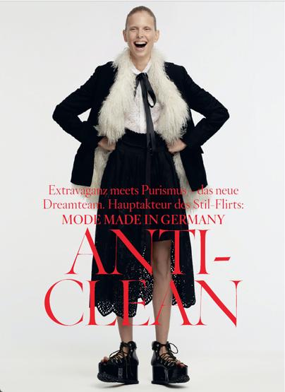 German Vogue /w Ralph Mecke