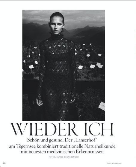 German Vogue /w Blaise Reutersward