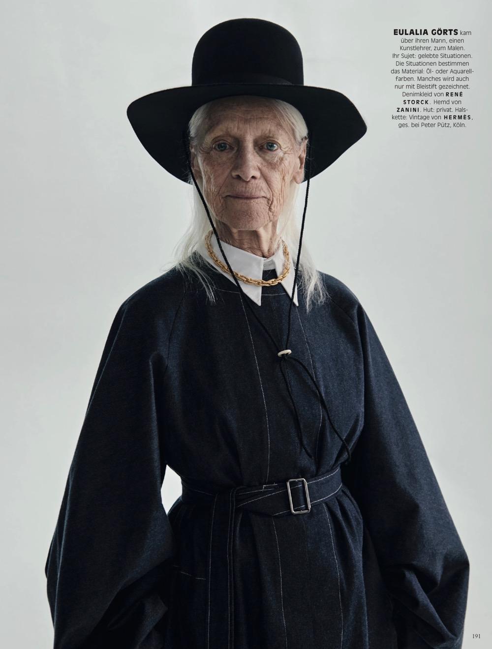 Vogue Germany /w Claudia Knoepfel / Styling Nicola Knels
