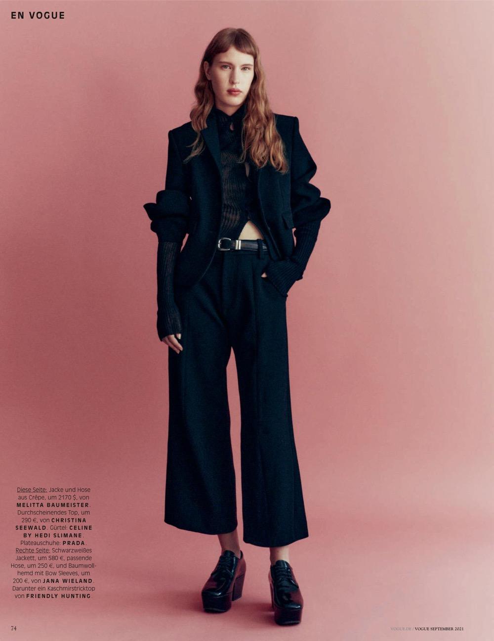 Vogue Germany /w Rahel Weiss